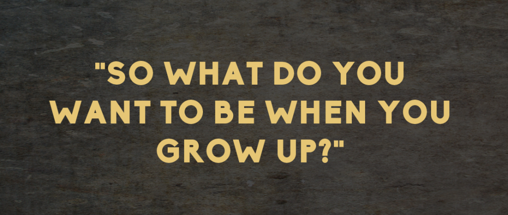 an analysis of what do you want to be when you grow You'll want to do three quick critiques of yourself: how well you think you're doing from your perspective, how well you think you're doing from your boss' perspective, and how engaged you are .