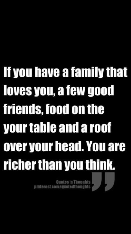 You are richer than youthink!