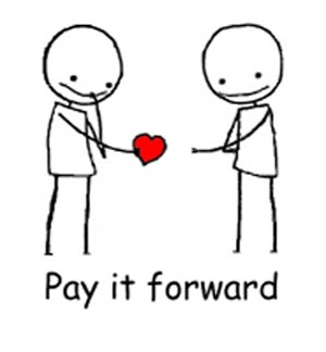 Pay it forward tip?