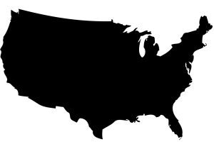 us-map-silhouette-vector
