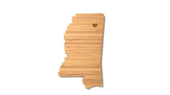 Mississippi cutting board