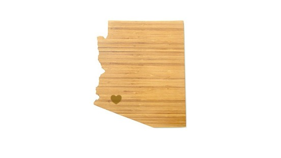 Arizona cutting board