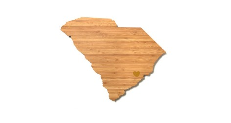 South Carolina cutting boardd